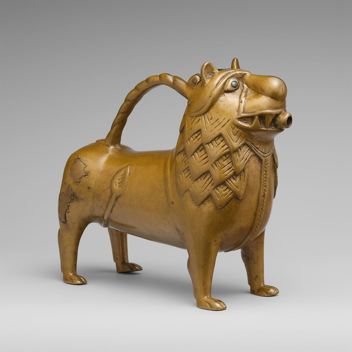 Aquamanile in the Form of a Lion | North German | The Met