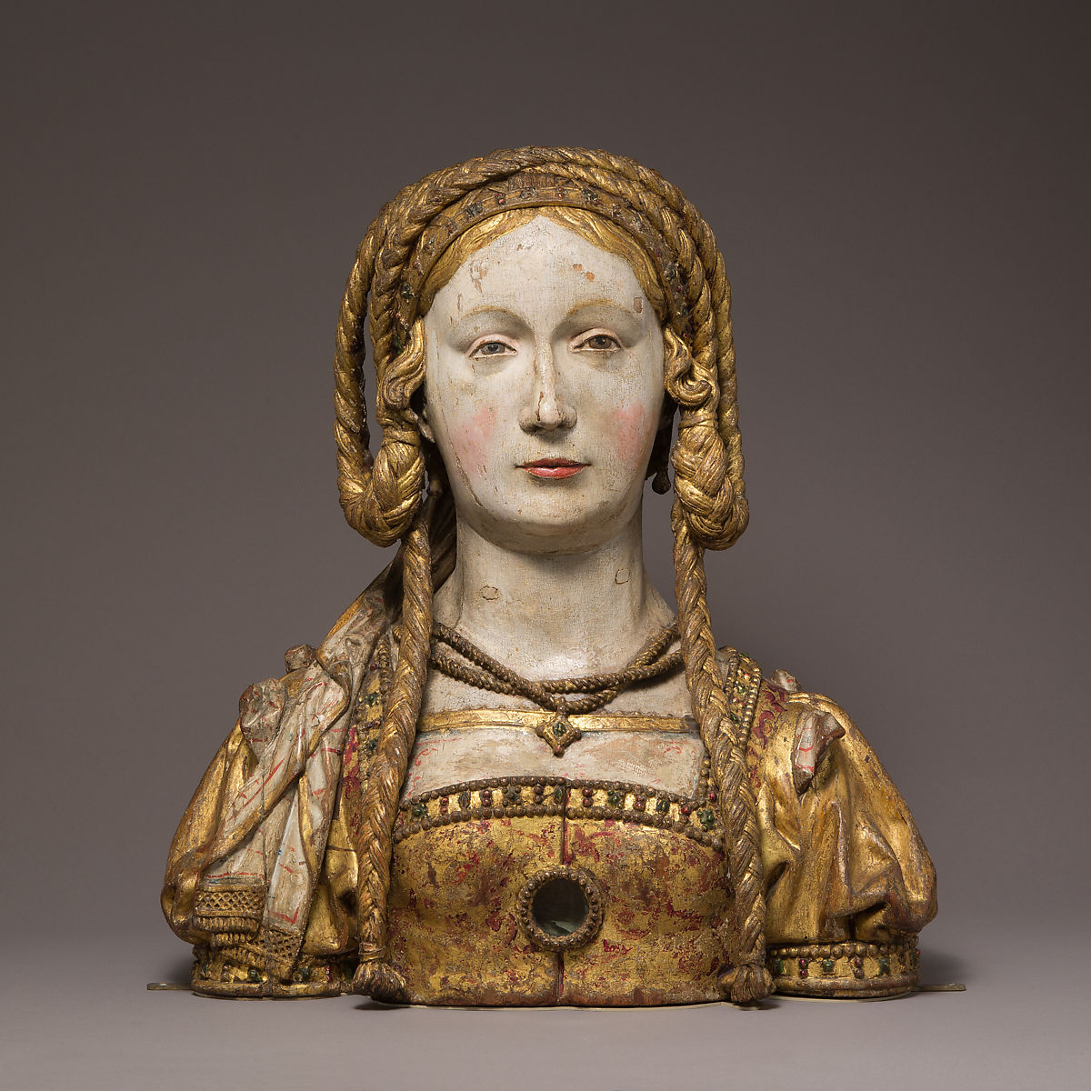 Reliquary Bust of Saint Balbina | South Netherlandish | The Met