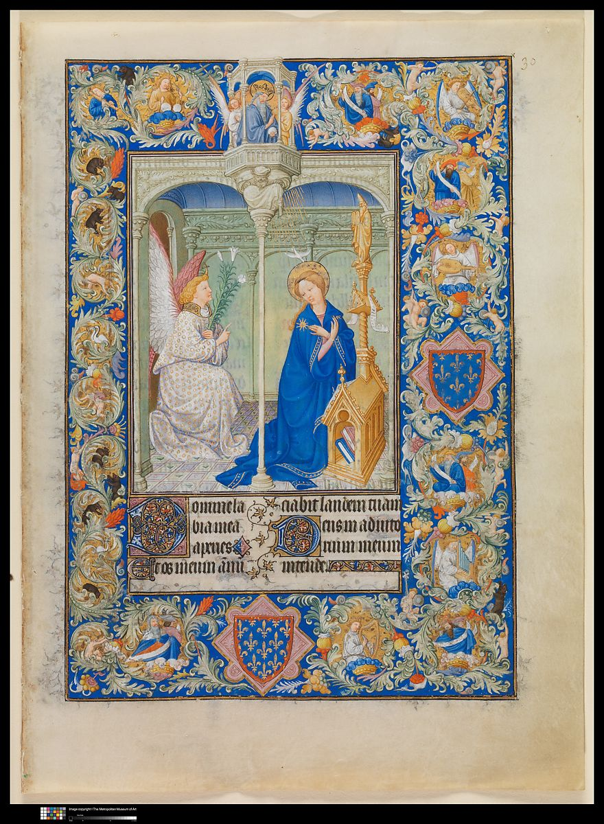 The Limbourg Brothers | The Belles Heures of Jean de France, duc de Berry | French | The Met