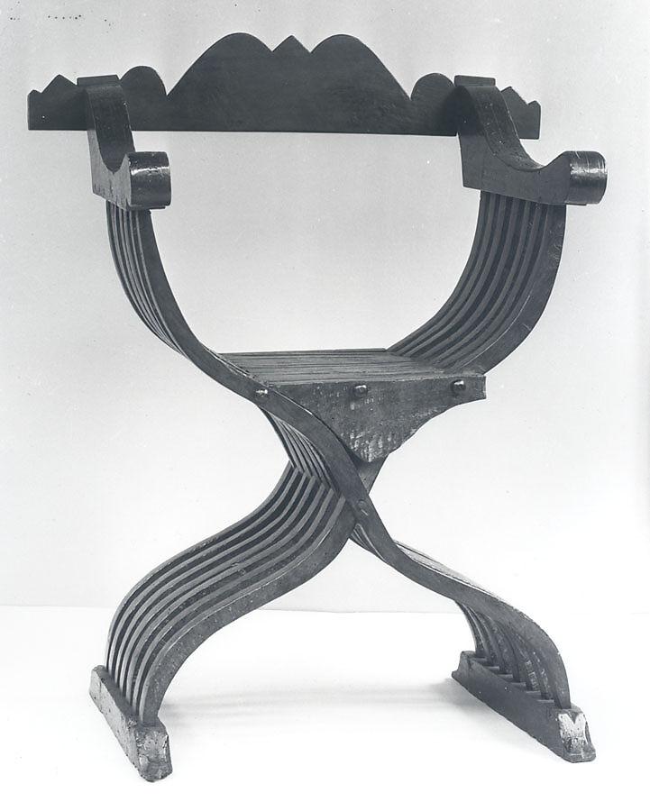 Savonarola Chair Walnut Italian  sc 1 st  Metropolitan Museum of Art & Savonarola Chair | Italian | The Met