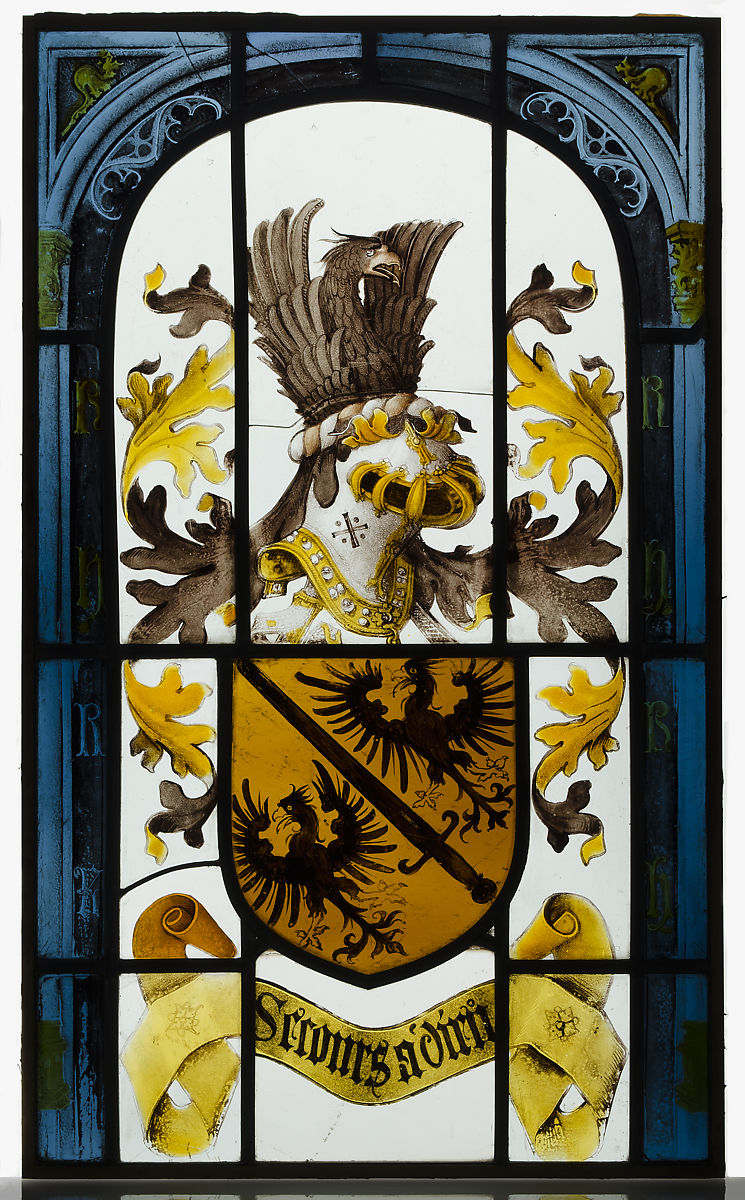 Heraldic Panel with Arms of the House of Hapsburg   South Netherlandish   The Met