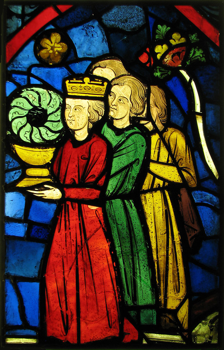 King Louis Ix Carrying The Crown Of Thorns French The Met