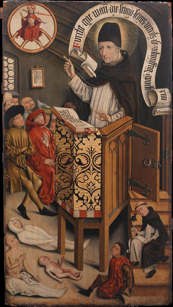 Friedrich Walther | Sermon of Saint Albertus Magnus | German | The  Metropolitan Museum of Art