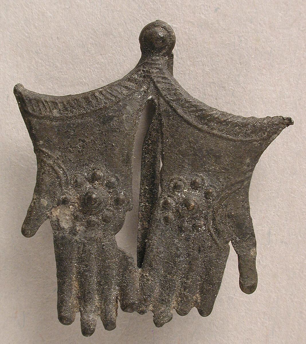 Pilgrim's Badge with Becket's Gloves   British   The Met