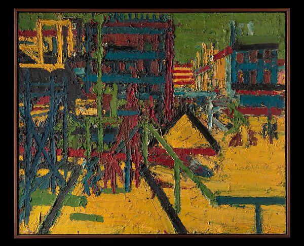Frank Auerbach | Mornington Crescent | The Metropolitan Museum of Art