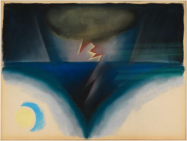 Georgia O'Keeffe | A Storm | The Metropolitan Museum of Art