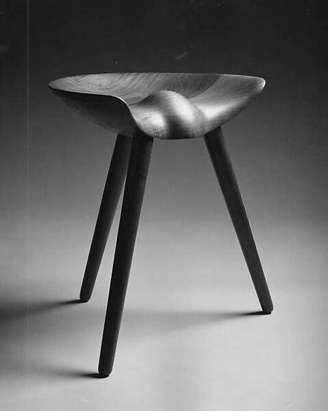 Astonishing Mogens Lassen Three Legged Stool The Met Inzonedesignstudio Interior Chair Design Inzonedesignstudiocom