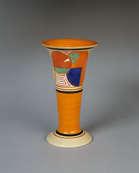 Clarice Cliff Fantasque Vase The Met