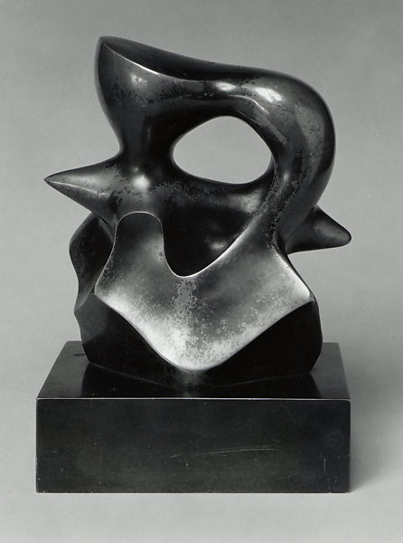 Maquette: Spindle Piece, Henry Moore (British, Castleford 1898–1986 Much Hadham), Bronze