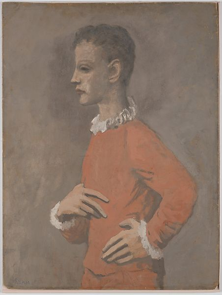 Pablo Picasso | Saltimbanque in Profile | The Met