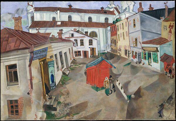 Marc Chagall | The Marketplace, Vitebsk | The Metropolitan Museum of Art