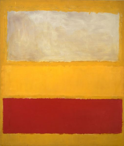 Mark Rothko | No. 13 (White, Red on Yellow) | The Met
