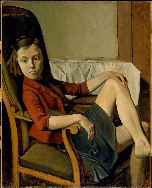 Therese Stampa FINE ART su Tela Canvas Balthasar Kłossowski Balthus