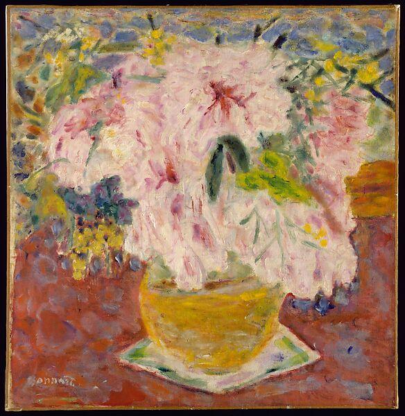 Pierre Bonnard | Pink Bouquet | The Met