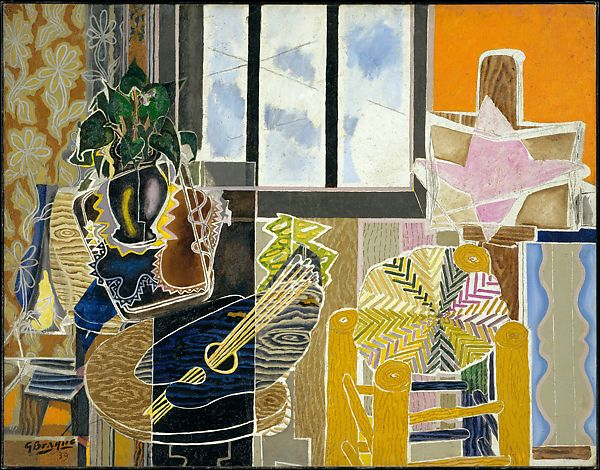 georges braque the studio vase before a window the met