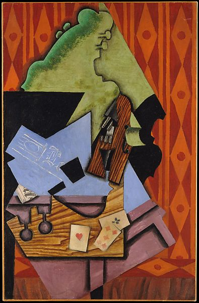 Art Juan Gris Spanish Cubism Abstract 33