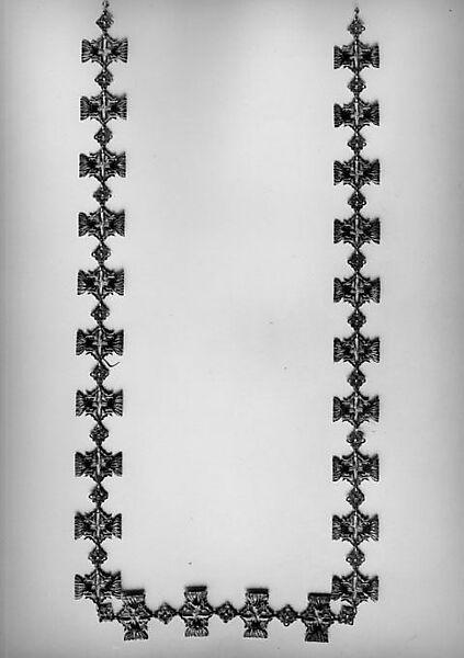 Chain, René-Jules Lalique (French, Aÿ 1860–1945 Paris), Enamel, gold, brilliants, French
