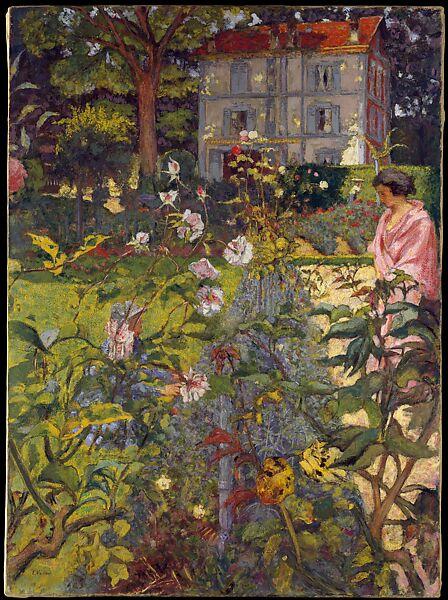 Garden at Vaucresson (1923 and 1937) by Edouard Vuillard