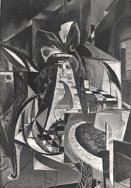 Still Life, Preston Dickinson (American, New York, New York 1889–1930 Irun, Spain), Oil on composition board