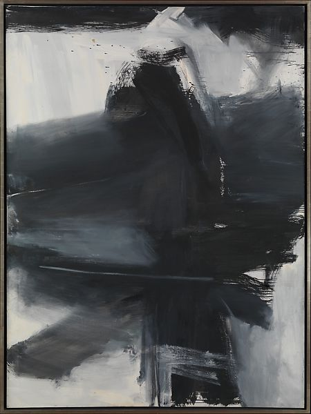 Franz Kline Black White And Gray The Met
