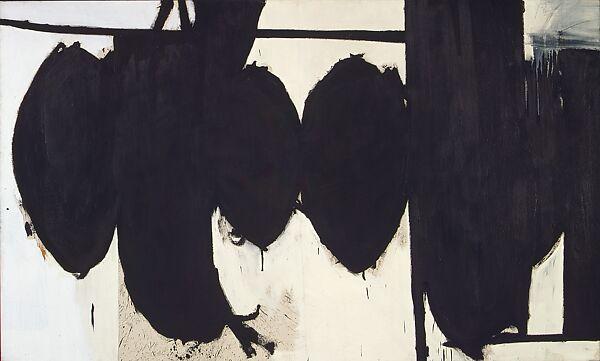 Robert Motherwell | Elegy to the Spanish Republic No. 70 | The Met