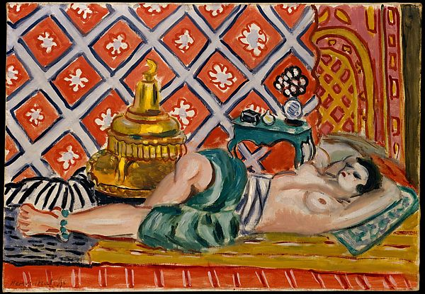 Henri Matisse | Reclining Odalisque | The Met