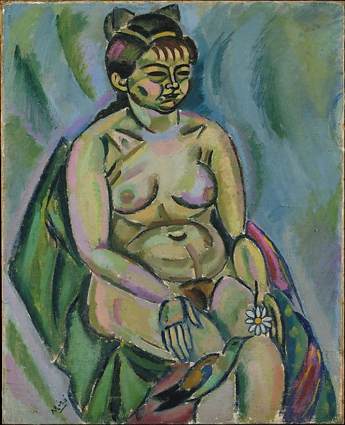 Joan Miró | Seated Nude Holding a Flower | The Met