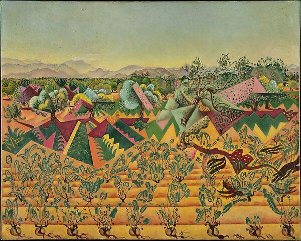 Joan Miró   Vines and Olive Trees, Tarragona   The Met