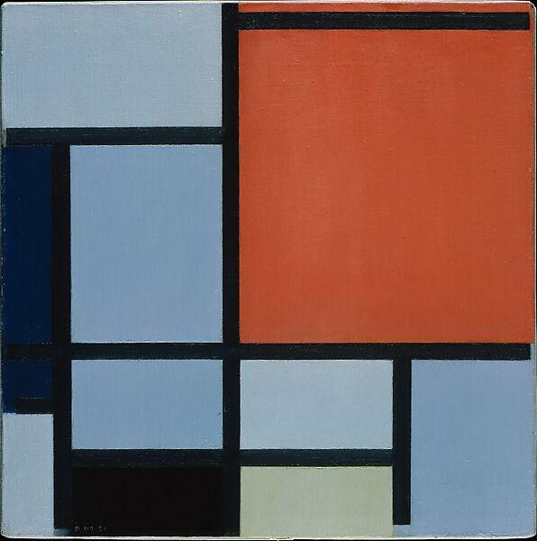 Piet Mondrian Composition The Met