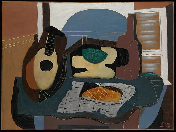 Pablo Picasso | Still Life with Mandolin and Galette | The Met