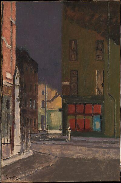 Walter Richard Sickert   Maple Street, London   The Met