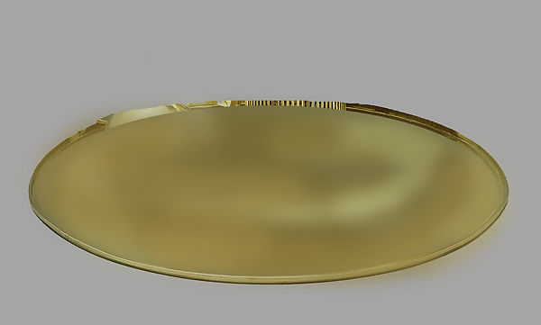 Prototype tray, Eliel Saarinen (American (born Finland), Rantasalmi 1873–1950 Bloomfield Hills, Michigan), Electro-plated nickel silver, brass and Bakelite