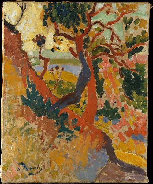 The Sunken Path, L'Estaque, André Derain (French, Chatou 1880–1954 Garches), Oil on canvas