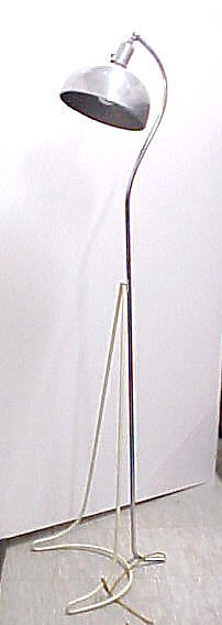 Standing Lamp (Prototype), Gilbert Rohde (American, New York 1894–1944 New York), Chromed and painted metal
