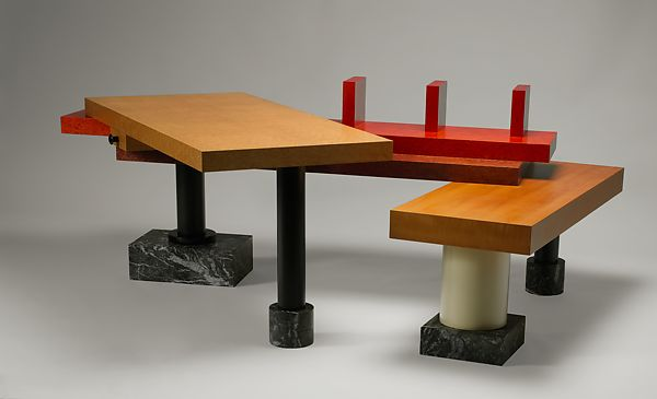 "Ettore Sottsass | ""I Designed It For Pitagora"" Desk 