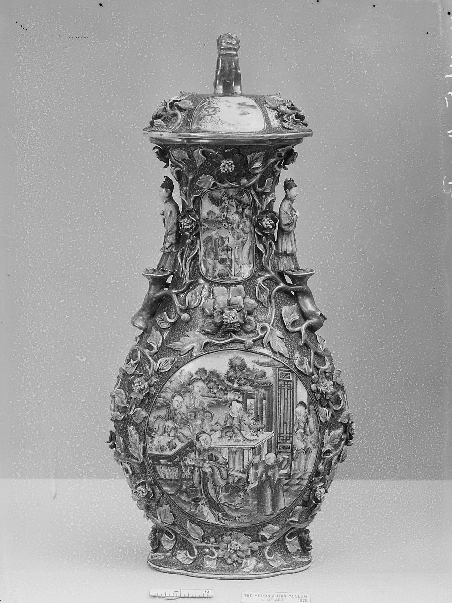 Covered Jar | China | Qing dynasty (1644–1911) | The Met
