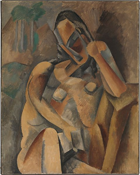Woman with a Book, Pablo Picasso (Spanish, Malaga 1881–1973 Mougins, France), Oil on canvas