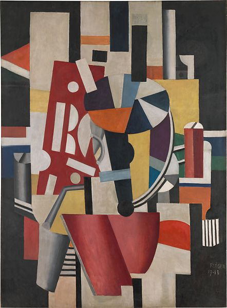 -2014 Poster The Typographer Fernand Leger-Composition