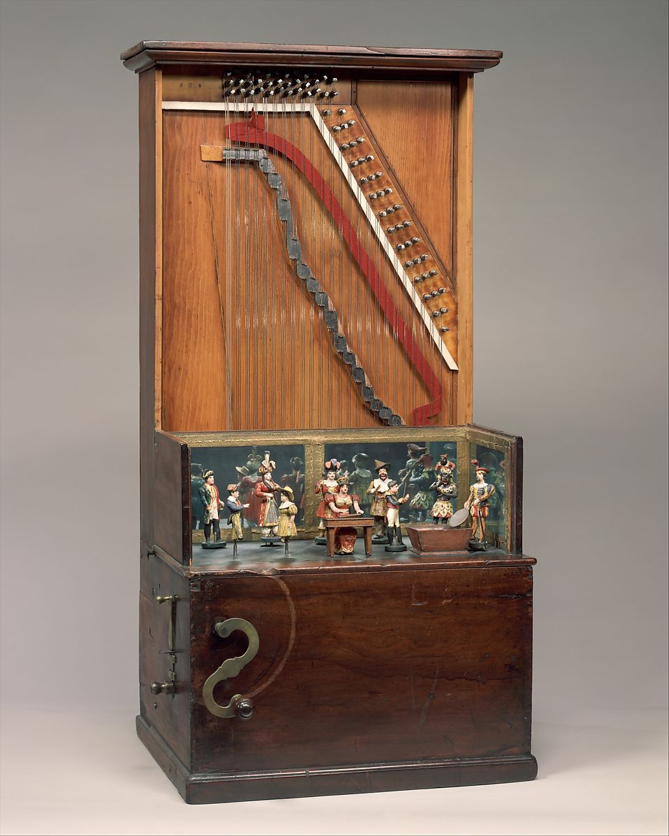 George Hicks | Barrel Piano | American | The Met