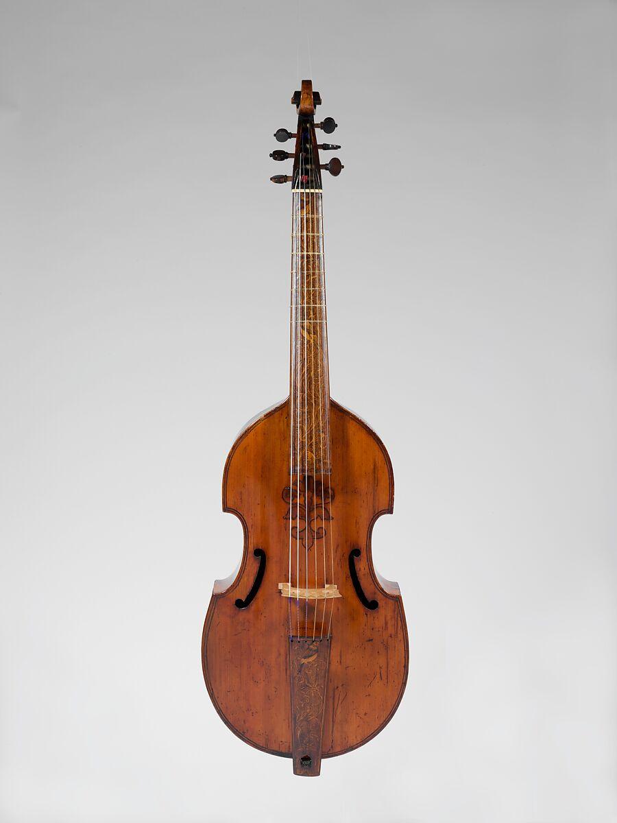 Attributed To Barak Norman Bass Viola Da Gamba British