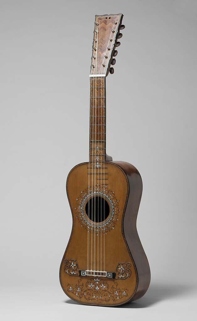 Guitar, Attributed to Joseph de Frías (Spanish, active Seville and Cadiz, ca. 1775–1800), Spruce, rosewood, cedar, ebony, mother-of-pearl, Spanish