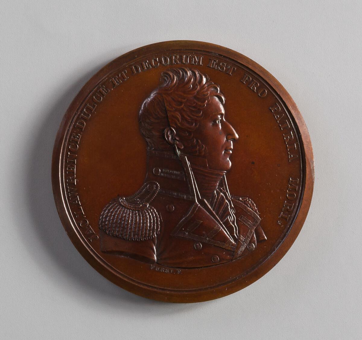 Moritz Fürst | Medal of Captain James Lawrence | American | The Met