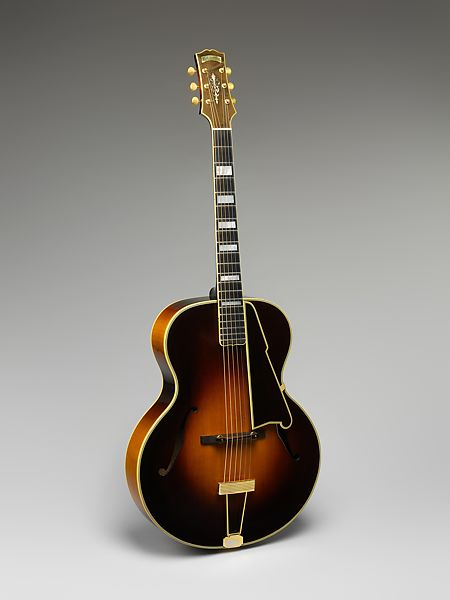 John D'Angelico | Archtop Guitar | American | The Met