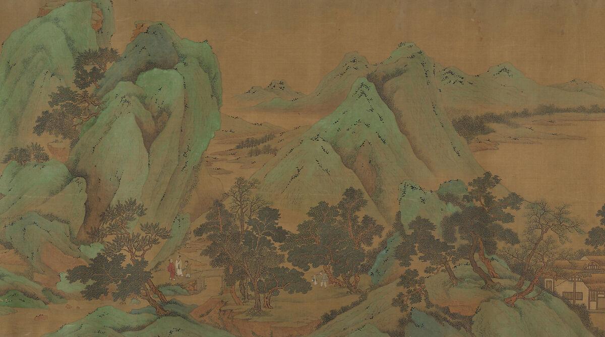 Unidentified Artist | Landscape (Garden Estate) | China | Ming (1368 ...