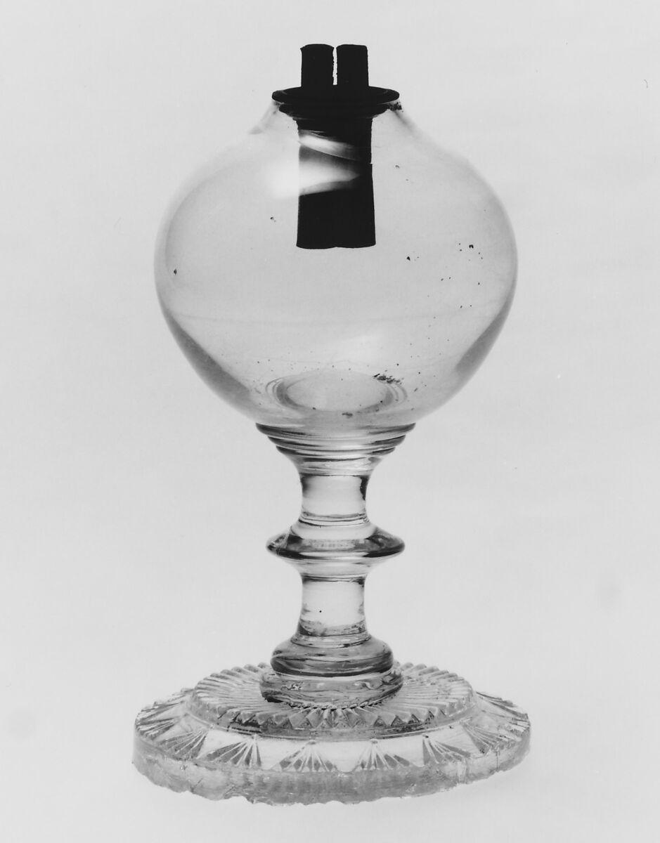 Whale Oil Lamp   American   The Met