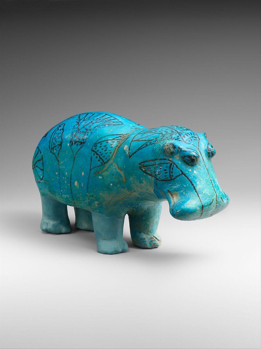 """Hippopotamus (""""William"""")   Middle Kingdom   The Met"""