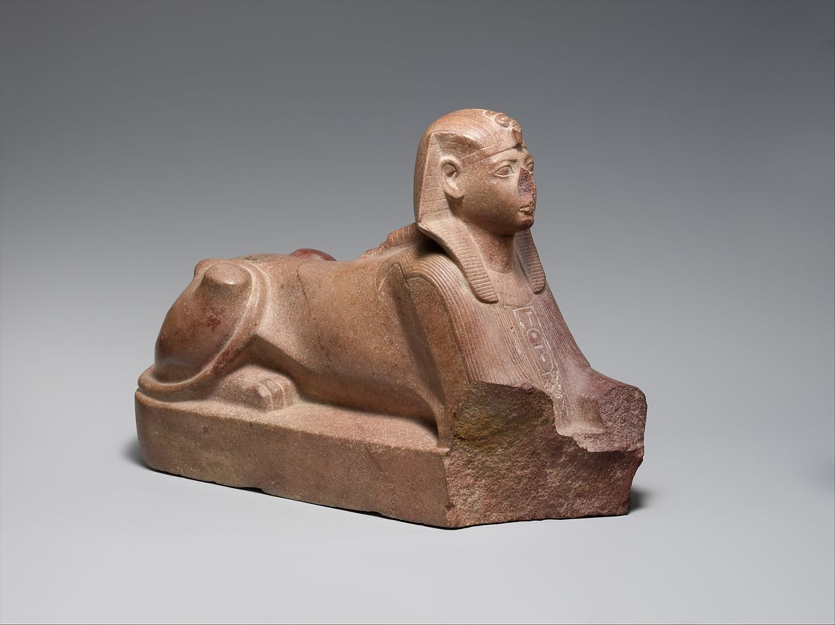 Sphinx of Thutmose III, Quartzite