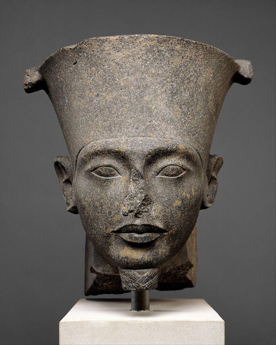 Head of the god Amun, Granodiorite