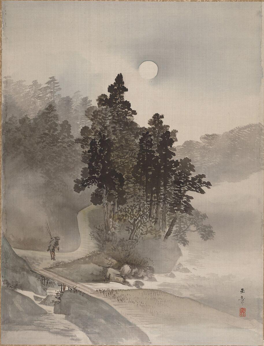 Kawabata Gyokushō   Traveling by Moonlight   Japan   Meiji period (1868–1912)   The Met