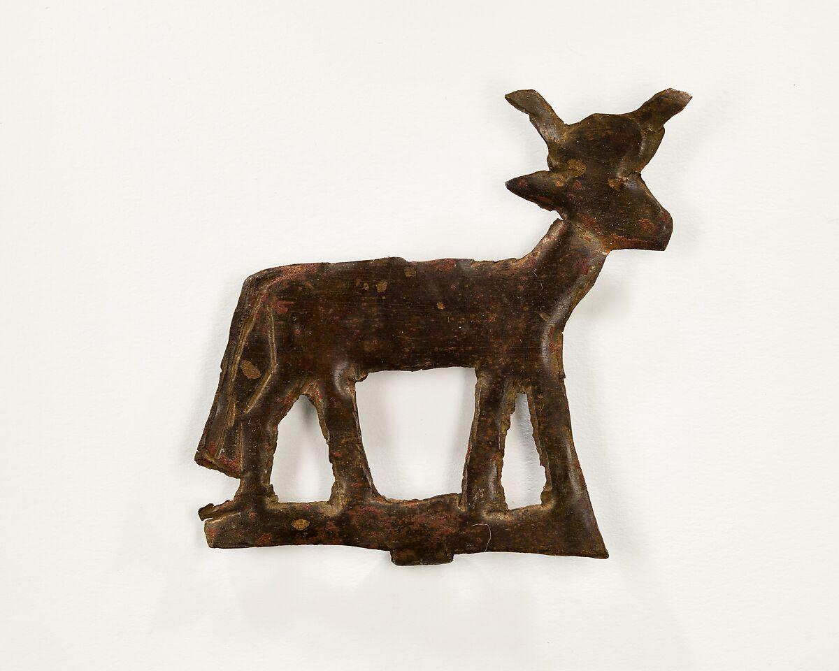 Cow plaque | New Kingdom | The Met